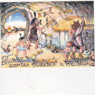 CPM Pirate Carte Pirate (51) REIMS 1993 Hommes Préhistoriques Grotte Tirage Limité Signée Illustrateur A. LE GUILLOUX - Collector Fairs & Bourses