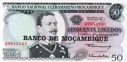 MOZAMBICO 50 ESCUDOS 1976 P-116  UNC - Mozambico