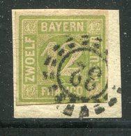Bayern / Mi. 12 Bfst. OMR-Stempel 32 (27231) - Bayern