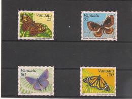 VANUATU Papillons  Année 1991  N° Y/T : 856/59** - Vanuatu (1980-...)