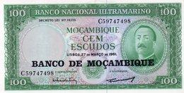 MOZAMBICO 100 ESCUDOS 1976 P-117  UNC - Mozambico