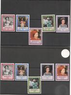 VANUATU S.M.Elisabeth IIi  Années 1986/87  N° Y/T : 735/39** Et 792/96** Côte : 14,75 € - Vanuatu (1980-...)