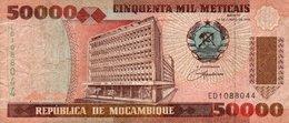MOZAMBICO 50000 METICAIS 1993 P-138 - Mozambique