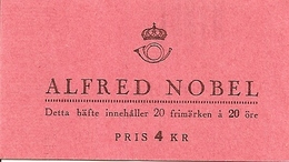 SWEDEN, 1946, Booklet 80 (Facit), Mi 325, Alfred Nobel - 1904-50