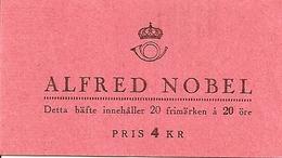 SWEDEN, 1946, Booklet 80 (Facit), Mi 325, Alfred Nobel - Libretti
