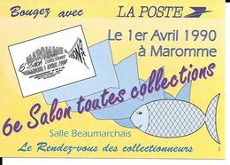 MAROMME - 6ème Salon Toutes Collections - 1er Avril 1990 - Maromme