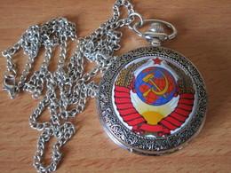 MONTRE A GOUSSET URSS CCCP UNION SOVIETIQUE - Orologi Da Polso