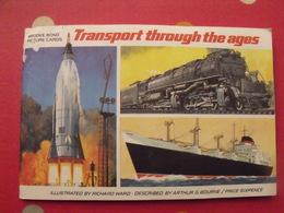 Album D'images Thé Brooke Bond. En Anglais. Transpoort Through The Ages. 50 Chromo. Vers 1960 - Albums & Catalogues