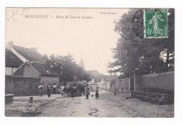 Montaigu.Montaigut.39.Jura.Route De Lons-le-Saunier.1911 - Altri Comuni
