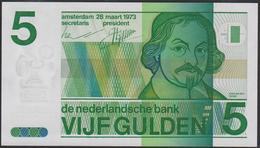 Netherlands 5 Gulden 1973 P95 UNC - [2] 1815-… : Royaume Des Pays-Bas
