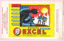 Buvard Biscottes EXCEL Collection Galaxie Série G Galaxie 75 - Zwieback