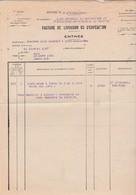 Service Artillerie Belfort / 1937 / Livraison 10 000 Cartouches Club Sportif Port Sur Saône 70 - Militaria