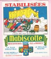 Buvard Biscottes MABISCOTTE 14 Juillet 1789 Bastille - Biscottes
