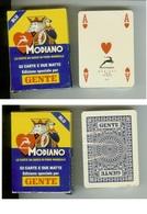 """Carte Da Gioco Modiano Poker Pubblicitarie Anni '80/'90 Settimanale """"Gente"""". Ancora Sigillate - Carte Da Gioco"""