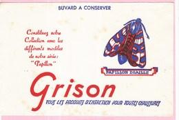 Buvard GRISON Animaux Papillon Papillon écaille - Wash & Clean