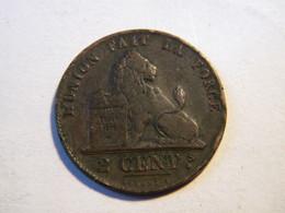 BELGIQUE - 2 CENTIMES 1851. - 1831-1865: Leopold I