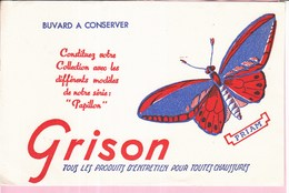 Buvard GRISON Animaux Papillon Priam - Animals