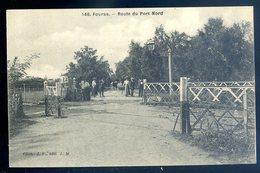 Cpa Du 17  Fouras Route Du Port Nord     YN12 - Fouras-les-Bains