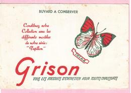 Buvard GRISON Animaux Papillon Ixias - Wash & Clean