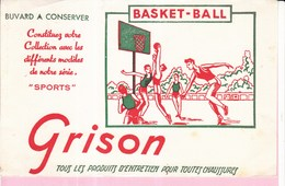 Buvard GRISON Sport Basket-ball - Wash & Clean