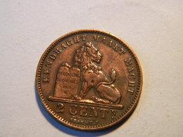 BELGIE - 2 CENTIMEN 1905. - 1865-1909: Leopold II