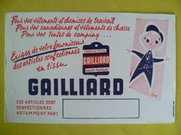 Buvard Tissu GAILLIARD - Blotters