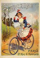Cycle Postcard La Francaise 1900 - Reproduction - Reclame