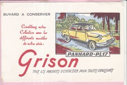 Buvard GRISON Automobiles Voitures Panhard PL17 - Automotive