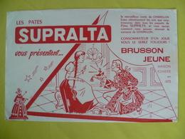 Buvard   Les Pâtes SUPRALTA - Blotters