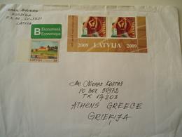 LATVIA  COVER USED - Lettonie