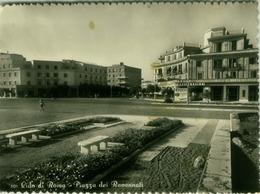 LIDO DI ROMA / OSTIA ( ROMA ) PIAZZA DEI RAVENNATI - EDIZ. BELVEDERE - 1955 (2645) - Italia