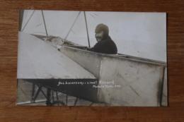 Cpa Nos Aviateurs  Lieutenant Vimard  Modern' Photo Pau - Aviateurs