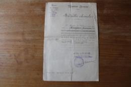 Diplome Médaille Coloniale  Afrique Occidentale Française  Pour Administrateur En Chef Des Colonies - Diploma & School Reports