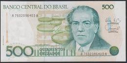 Brazil 500 Cruzados 1988 P212d UNC - Brésil