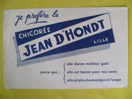 Buvard   CHICOREE JEAN D HONDT LILLE - Blotters