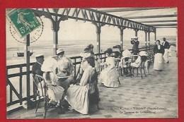 62 - WISSANT -  LE GRAND HÔTEL -  LA TERRASSE - CLIENTS ET PERSONNEL - 1913 - Wissant