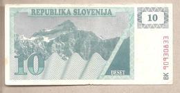 Slovenia - Banconota Circolata Da 10 Talleri - P-4a - 1990 - Slovenia