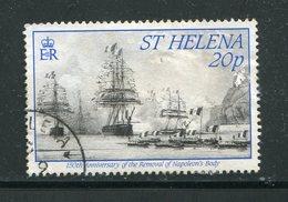 SAINTE HELENE- Y&T N°541- Oblitéré (bateau) - Sainte-Hélène