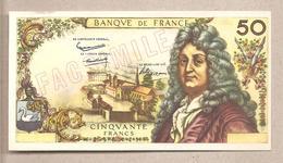 """Francia - Banconota Fax-simile Da 50 Franchi Serie: """"I Facsimili Di Tutto Il Mondo"""" - 1968 - France"""
