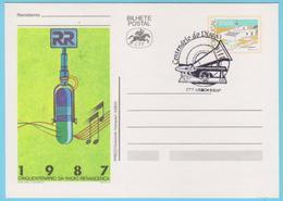J.M.19 - Portugal - N° 25 - Entier Postal - Diffusion Du Son - Music