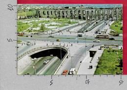 CARTOLINA VG TURCHIA - ISTANBUL - Le Passage De Sarachane Et Les Aqueducs Byzantius - 10 X 15 - ANN. 197? - Turchia