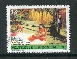 POLYNESIE FRANCAISE- Y&T N°265- Oblitéré - Usati