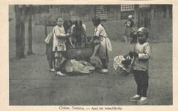 China, Terisou, Aan De Waschkuip (pk50653) - Chine
