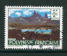 POLYNESIE FRANCAISE- Y&T N°133- Oblitéré - Usati