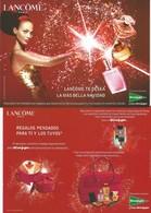 1grande Carte Lancome Espagne 2005 - Perfume Cards