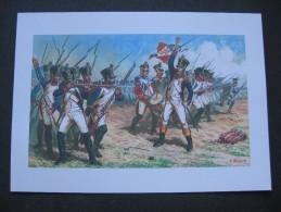 Affiche : Charge De Régiments D'infanterie De Ligne De L'Empereur - Documents
