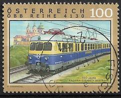 2008  Austria Österreich Mi.2762 Used  Eisenbahnen : 150 Jahre Kaiserin-Elisabeth-Bahn/Österreichische Westbahn - 1945-.... 2a Repubblica