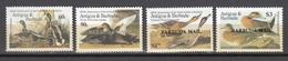 Barbuda Mail 1986,4V,set,ovpt BARBUDA MAIL,birds,vogels,vögel,oiseaux,pajaros,uccelli,aves,MNH/Postfris(A3549) - Oiseaux