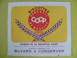 Buvard  Biscottes COOP - Blotters