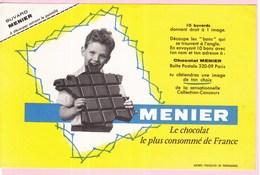 Buvard Chocolat Menier - Chocolat